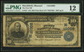 National Bank Notes:Missouri, Marshfield, MO - $10 1902 Plain Back Fr. 627 The First NB Ch. #(M)10009. ...