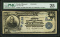 National Bank Notes:Missouri, Purdy, MO - $10 1902 Plain Back Fr. 628 The First NB Ch. #(M)10122. ...