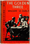 Books:Mystery & Detective Fiction, William Le Queux. The Golden Three. New York: The Fiction League, 1931....