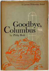 Philip Roth. Goodbye, Columbus. Boston: Houghton Mifflin Company, 1959