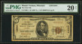 National Bank Notes:Missouri, Mount Vernon, MO - $5 1929 Ty. 1 The First NB Ch. # 13504. ...