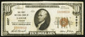 National Bank Notes:Missouri, Lamar, MO - $10 1929 Ty. 1 The First NB Ch. # 4057. ...
