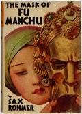 Books:Mystery & Detective Fiction, Sax Rohmer. The Mask of Fu Manchu. Garden City: Doubleday,Doran & Company, 1932....