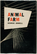 Books:Literature 1900-up, George Orwell. Animal Farm. New York: Harcourt, Brace andCompany, [1946]....