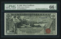 Large Size:Silver Certificates, Fr. 225 $1 1896 Silver Certificate PMG Gem Uncirculated 66 EPQ.. ...