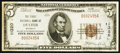 National Bank Notes:Missouri, Dexter, MO - $5 1929 Ty. 1 The First NB Ch. # 11320. ...