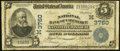 National Bank Notes:Missouri, Kansas City, MO - $5 1902 Date Back Fr. 592 The NB of Commerce Ch.# (M)3760. ...