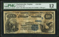 National Bank Notes:Virginia, Charlottesville, VA - $10 1882 Value Back Fr. 577 The Peoples NB Ch. # (S)2594. ...
