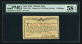 Colonial Notes:New York, New York January 6, 1776 (Water Works) 8s PMG Choice About Unc 58EPQ.. ...