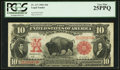 Large Size:Legal Tender Notes, Fr. 117 $10 1901 Legal Tender PCGS Very Fine 25PPQ.. ...