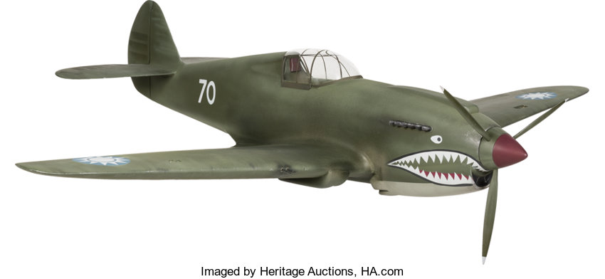 A John Wayne-Related Model Fighter Plane from