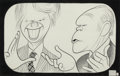 Mainstream Illustration, After Al Hirschfeld (American, 1903-2003). Gerald Ford and JimmyCarter, reproduction, 1977. Ink on paper. 8.75 x 14 in....