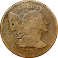 Large Cents, 1795 1C Reeded Edge, S-79, B-9, Low R.7 -- Corrosion -- NGC Details. VG. Our EAC Grade Good 5....