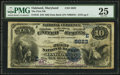 National Bank Notes:Maryland, Oakland, MD - $10 1882 Date Back Fr. 545 The First NB Ch. #(E)5623. ...