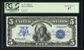 Large Size:Silver Certificates, Fr. 271 $5 1899 Silver Certificate PCGS Superb Gem New 67.. ...