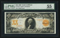 Large Size:Gold Certificates, Fr. 1184 $20 1906 Gold Certificate PMG About Uncirculated 55.. ...