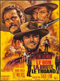 """Movie Posters:Western, The Good, the Bad and the Ugly (United Artists, R-1970s). French Grande (47"""" X 63""""). Western.. ..."""
