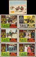 "Movie Posters:Western, Fort Apache & Other Lot (RKO, 1948/R-1953). Lobby Cards (7) (11"" X 14""). Western.. ... (Total: 7 Items)"