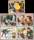 "Movie Posters:Sports, Idol of the Crowds (Film Classics, R-1949). Title Lobby Card & Lobby Cards (4) (11"" X 14""). Sports.. ... (Total: 5 Items)"