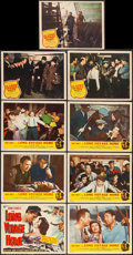 """Movie Posters:Drama, The Long Voyage Home (United Artists, 1940/Masterpiece Productions,R-1948). Title Lobby Card, Lobby Cards (6) (11"""" X 14""""), ... (Total:9 Items)"""