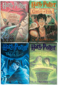 Books:Children's Books, J. K. Rowling. Group of Four from the Harry Potter Series.Various publishers and dates.... (Total: 4 Items)