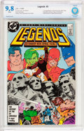 Modern Age (1980-Present):Superhero, Legends #3 (DC, 1987) CBCS NM/MT 9.8 White pages....