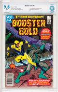 Modern Age (1980-Present):Superhero, Booster Gold #1 (DC, 1986) CBCS NM/MT 9.8 White pages....