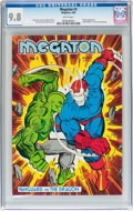 Modern Age (1980-Present):Superhero, Megaton #3 (Megaton Publications, 1986) CGC NM/MT 9.8 Whitepages....