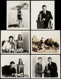 George Bancroft in The Wolf of Wall Street by Gene Robert Richee & Others Lot (Paramount, 1929). Portrait Photos (22...