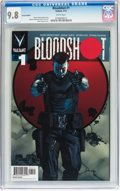 Modern Age (1980-Present):Science Fiction, Bloodshot #1 (Valiant, 2012) CGC NM/MT 9.8 White pages....