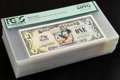 Miscellaneous:Other, Disney Dollar Disneyland $1 2009 Rodgers-149 Sixty-eightConsecutive Examples. . ... (Total: 68 notes)