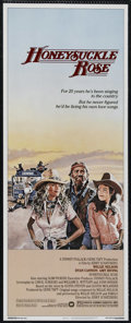 """Movie Posters:Romance, Honeysuckle Rose (Warner Brothers, 1980). Insert (14"""" X 36""""). Drama. Directed by Jerry Schatzberg. Starring Willie Nelson, D..."""
