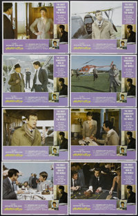 "Hopscotch (AVCO Embassy Pictures, 1980). Lobby Card Set of 8 (11"" X 14""). Action Comedy. Directed by Ronald Ne..."
