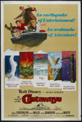 "Movie Posters:Adventure, In Search of the Castaways (Buena Vista, 1962). Poster (40"" X 60"").Adventure. Directed by Robert Stevenson. Starring Mauric..."