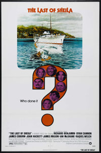 "The Last of Sheila (Warner Brothers, 1973). One Sheet (27"" X 41""). Mystery. Directed by Herbert Ross. Starring..."
