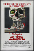 "Movie Posters:Horror, The Legend Of Hell House (Twentieth Century Fox, 1973). Poster (40"" X 60""). Horror. Directed by John Hough. Starring Pamela ..."