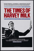 """Movie Posters:Documentary, The Life and Times of Harvey Milk (TC Films International, 1984). One Sheet (27"""" X 41""""). Documentary. Directed by Robert Eps..."""
