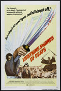 "Movie Posters:Action, Lightning Swords of Death (Columbia, 1974). One Sheet (27"" X 41""). Action. Directed by Kenji Misumi. Starring Go Kato, Katsu..."