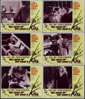 """Movie Posters:Thriller, The Name of the Game Is Kill (Fanfare, 1968). Lobby Cards (6) (11"""" X 14""""). Thriller. Directed by Gunnar Hellstrom. Starring ... (Total: 6 Items)"""