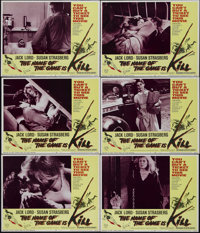 "The Name of the Game Is Kill (Fanfare, 1968). Lobby Cards (6) (11"" X 14""). Thriller. Directed by Gunnar Hellst..."