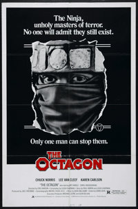"The Octagon (American Cinema, 1980). One Sheet (27"" X 41""). Action. Directed by Eric Karson. Starring Chuck No..."