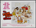 "Movie Posters:Bad Girl, The Pom Pom Girls (Crown-International, 1976). Half Sheet (22"" X 28""). Comedy. Directed by Joseph Ruben. Starring Robert Car..."