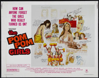 "The Pom Pom Girls (Crown-International, 1976). Half Sheet (22"" X 28""). Comedy. Directed by Joseph Ruben. Starr..."