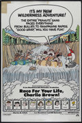 "Movie Posters:Animated, Race for Your Life, Charlie Brown (Paramount, 1977). Poster (40"" X60""). Animated. Directed by Bill Melendez and Phil Roman...."