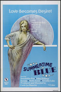 "Movie Posters:Bad Girl, Summertime Blue (VEP, 1979). One Sheet (27"" X 41""). Adult. Directedby Carle La Blanche. Starring John Holmes, Serena, Saman..."