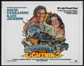 "Movie Posters:Adventure, Thunder and Lightning (20th Century Fox, 1977). Half Sheet (22"" X28""). Thriller. Directed by Corey Allen. Starring David Ca..."