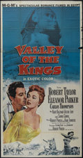 """Movie Posters:Adventure, Valley of the Kings (MGM, 1954). Three Sheet (41"""" X 81"""").Adventure. Directed by Robert Pirosh. Starring Robert Taylor,Elea..."""