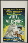 """Movie Posters:Documentary, White Wilderness (Buena Vista, 1958). Window Card (14"""" X 22""""). Nature. Directed by James Algar. Starring Winston Hibler. Key..."""