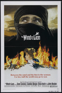 "The Wind and the Lion (MGM/UA, 1975). One Sheet (27"" X 41""). Adventure. Directed by John Milius. Starring Sean..."