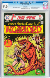 1st Issue Special #8 Warlord (DC, 1975) CGC NM+ 9.6 White pages
